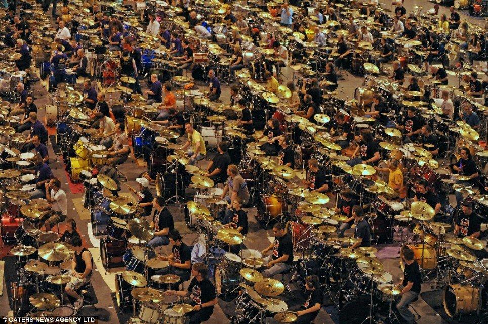 заказать барабанное шоу