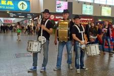 Интерактив барабанщиков
