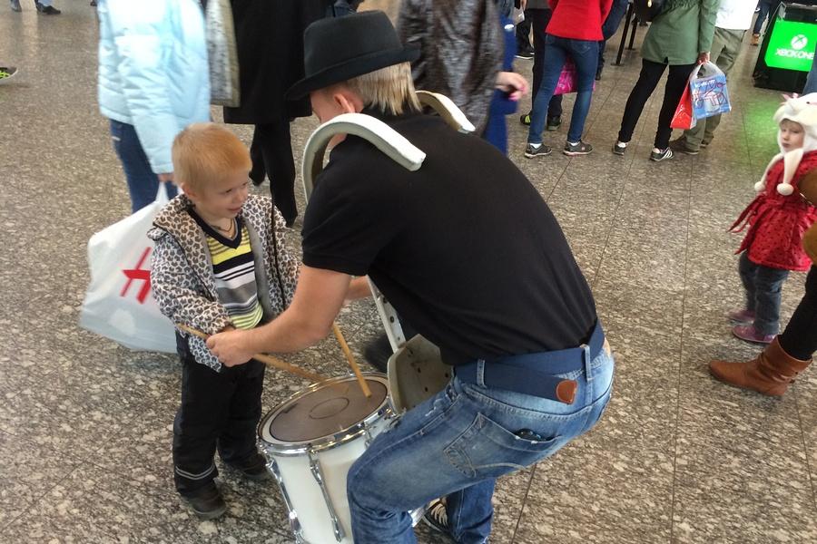 Барабанщики и дети