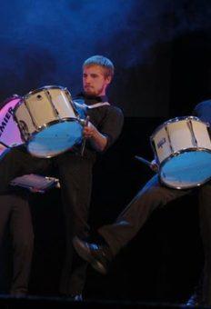 Барабанное шоу в Москве