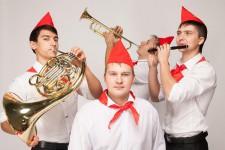 Пионерский оркестр барабанщиков