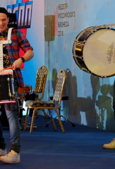 Шоу Светящиеся барабаны