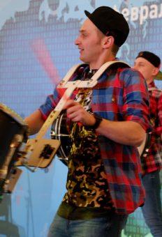 Шоу барабанщиков в Москве